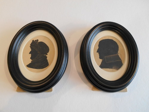 Oval frames for Jane Austin's House Museum